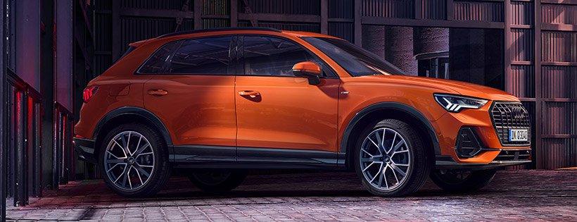 Yeni Audi Q3 krossoveri təqdim edilib.
